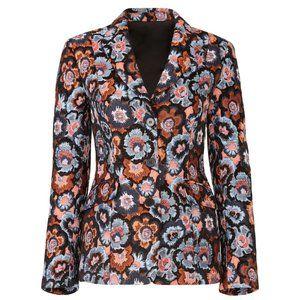 Theory floral jacquard jacket, size 2